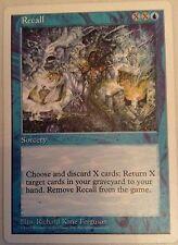 Mtg Magic the Gathering-Recall - 5th Edition/rare