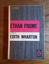 Ethan Frome, Edith Wharton, Special Student Edition, Scribner Library, HB