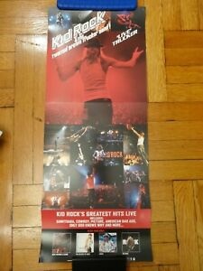 KID ROCK & THE TWISTED BROWN TRUCKER BAND LIVE 12X28 PROMO POSTER DOUBLE-SIDED