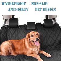 Waterproof Pet Cat Dog Back Car Rear Seat Cover Hammock NonSlip Protector Mat AU