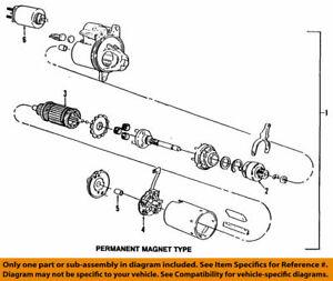 7R3Z11002A Ford Starter motor assy 7R3Z-11002-A SA-972 SC