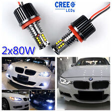 160W H8 LED BMW Angel Eye Halo Marker Light Xenon E93 E90 E91 E81 E82 E87 E60 X6