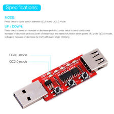QC2.0 QC3.0 Automatic Voltage Current LCD Tester BS
