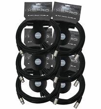 XSPRO XSPDMX3P25 3 Pin DMX Light Cable 25' - 6PAK