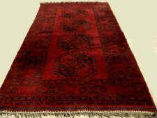 Original Tapis Afghan Ancien Laine Fait Main 215 x 135
