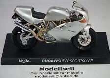 Motorrad Ducati Supersport 900 FE  in 1:18 Modell mit Standplatte von Maisto
