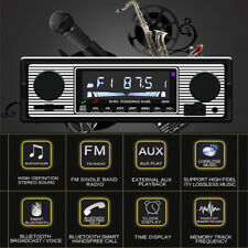 Car Stereo Radio Bluetooth In-dash Head  Player FM/MP3/AUX & Remot+ microphone