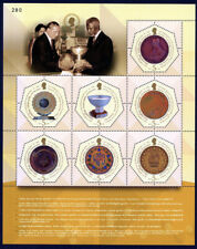 Rama Ix Awards Sheet Of 7 Stamps
