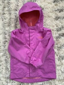 The North Face Pink Toddler Dryvent Rain Jacket Size 2t