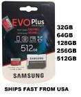 Samsung EVO+ Micro SD Card Memory Card 32GB 64GB 128GB 256GB 512GB Wholesale lot