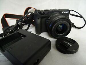 Canon EOS M3 + EF-M 15-45 IS STM spiegellose Systemkamera DSLM