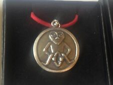 "Sheela Na Gig DR96 Made From English Pewter On a 18"" Red Cord Necklace"