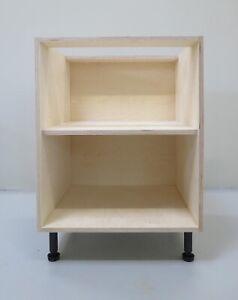 Premium Birch Plywood Kitchen Cabinet - Base Unit Carcass -  600mm
