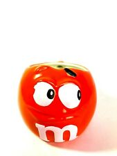 M&M Mug Orange 3 Dimensional Mug Large NEW MINT