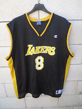 Maillot basket LOS ANGELES LAKERS shirt NBA CHAMPION USA BRYANT n°8 noir XL