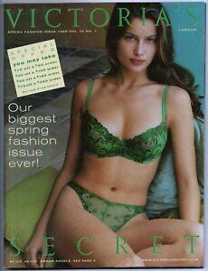 Victoria's Secret 1999 Spring Fashion V 3 #1 catalog Laetitia Casta cover 136p