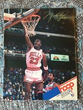 Vtg Michael Jordan 86-1987 HOOP Chicago Bulls NBA Basketball Nike AIR