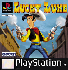 PSX/PS2/PS3 - Lucky Luke - DER EINSAME REITER -DEUTSCHE VERSION -MULTILINGUAL