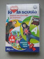 IO AMO LA SCUOLA - cofanetto NUOVO con 3 cd - matematica, italiano, inglese