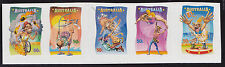 2007 Circus: Under The Big Top - Strip of 5 Booklet Stamps