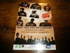 SKIP THE USE - Flyer !!! FEVRIER 2013 !!!