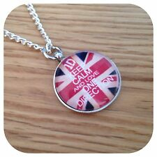 ONE DIRECTION BOY BAND KEEP CALM ROUND COLLANA