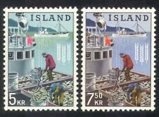 Iceland 1963 FAO/Trawler/Fishing/Boats/Hunger/Fishermen/Transport 2v set n23962