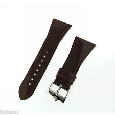 GLAM ROCK GS1088 Brown Patent Leather 26mm Original Strap NEW!!!