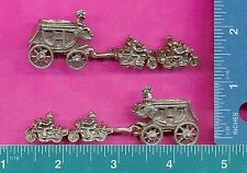 3 wholesale lead free pewter stagecoach motorcycles figurines H8045