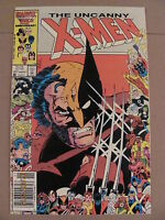 Uncanny X-Men #211 Marvel Comics Mutant Massacre Newsstand Edition 9.2 Near Mint
