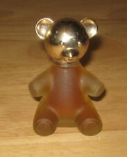 Vintage Avon Bear Figure with Cologne Full