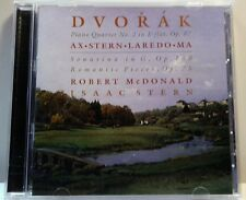 Dvorak: Piano Quartet No. 2 in E flat, Op. 87; Sonatina in G, Op. 100; (CD2017)