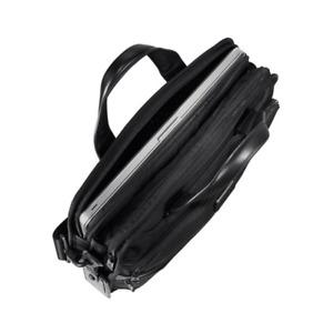 Tumi Alpha 2 Black FXT Ballistic Nylon Triple Compartment Brief Bag New $395