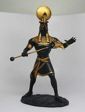 Ancient Egyptian Sculpture Solar Deity Sun God Ra Figurine Decoration Statue