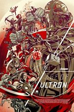 "Mondo Avengers Age of Ultron Variant Poster Print Martin Ansin Ed 250 24"" x 36"""