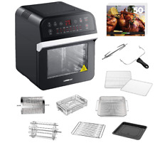 New ListingGoWise Usa Gw44800-O Deluxe 12.7-Quarts 15-in-1 Electric Air Fryer Oven w/Rotiss