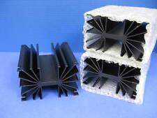 """Wakefield 433K Aluminium Heat Sink, 5.5"""" x 4.75"""" x 3"""", LOT of 3 NEW"""