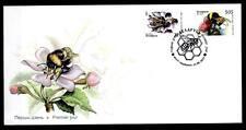 Bienen. Hummeln.  FDC mit  2W.  Weißrußland 2004