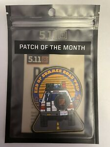 5.11 Tactical Patch Of The Month 511092 August 2021 Road Trip POTM 5.11 Patch