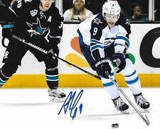 Andrew Copp signed Winnipeg Jets 8x10 photo autographed