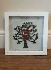 Personalised Family Tree Gift Keepsake Box Frame christmas present xmas