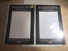 Fallen Son The Death of Captain America 2007 BLANK COVER VARIANT Two Copies