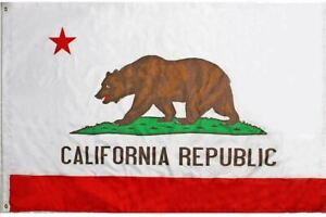 Flag - California State 3' x 5' * Ships FREE To USA * Show Your California Pride