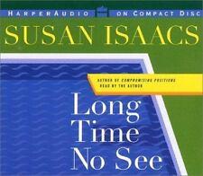 Long Time No See by Susan Isaacs (2001, CD, Abridged)
