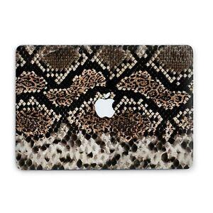 Snake Skin Animal Print Macbook 12 Pro 13 15 Air 11 13 Top Bottom Printed Cover
