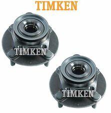 Pair Set of Front Wheel Bearings & Hubs Timken HA590285 for Nissan Versa 2007-11