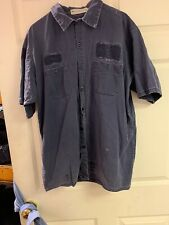 Red Kap Work Shirts XL-SS  Cotton Nice Used. 6 For $20 Navy Free Shipping