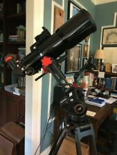 90-mm Achromatic Doublet Refractor Telescope w/2-in Crayford focuser