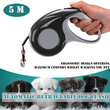 5M Automatic Retractable Pet Dog Cat Walking Leash Traction Rope Lead Chain Rope