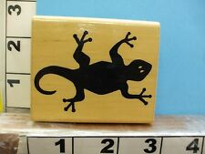 Jrl designs gecko lizard rubber stamp 2Q
